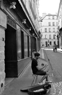 Musicien de la Rue Mouffetard