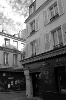 123 Rue Mouffetard - Enseigne d'Antan - Paris 5