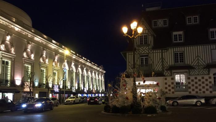 Deauville. Noel 2015. La Nantaise à Paris (1)