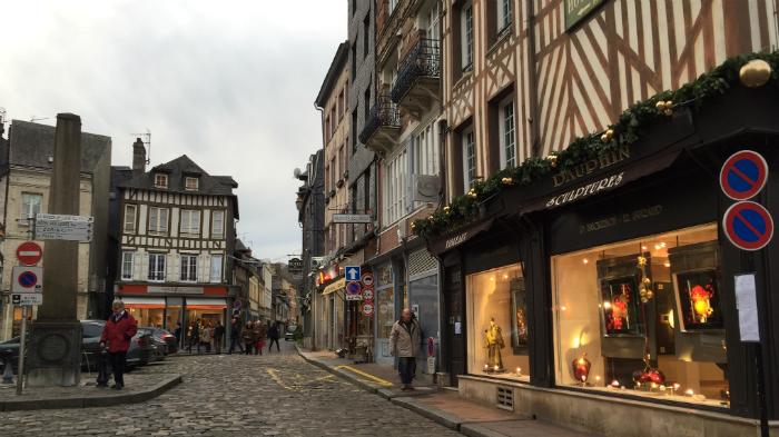 Honfleur. Noel 2015. La Nantaise à Paris (2)
