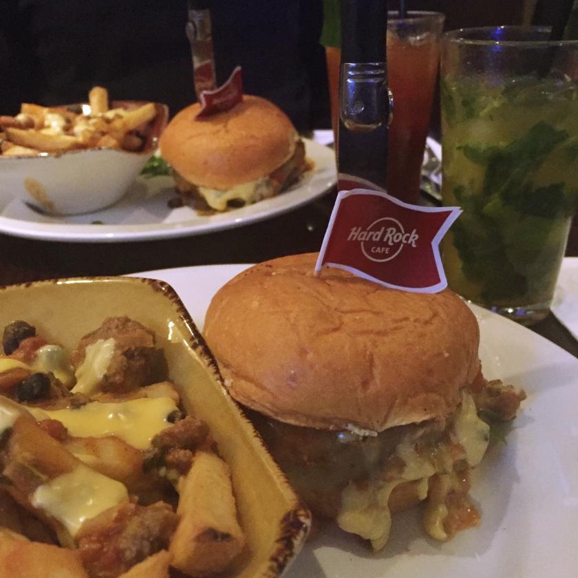 Chilli Day. Hard Rock Café. La Nantaise à Paris (1)