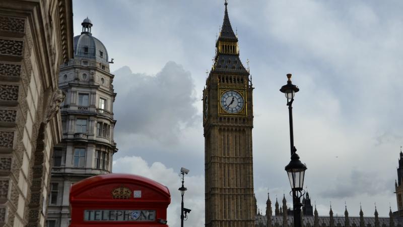 Londres. Big Ben. La Nantaise à Paris
