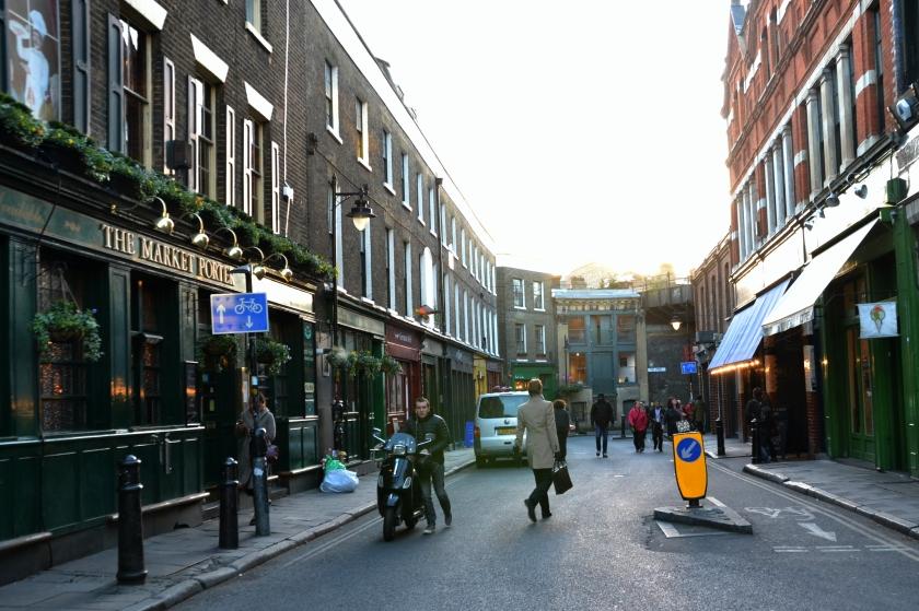 Londres. Borough Market. La Nantaise à Paris (2)