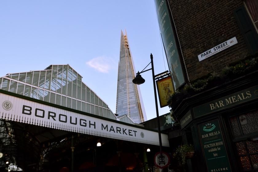 Londres. Borough Market. La Nantaise à Paris (4)
