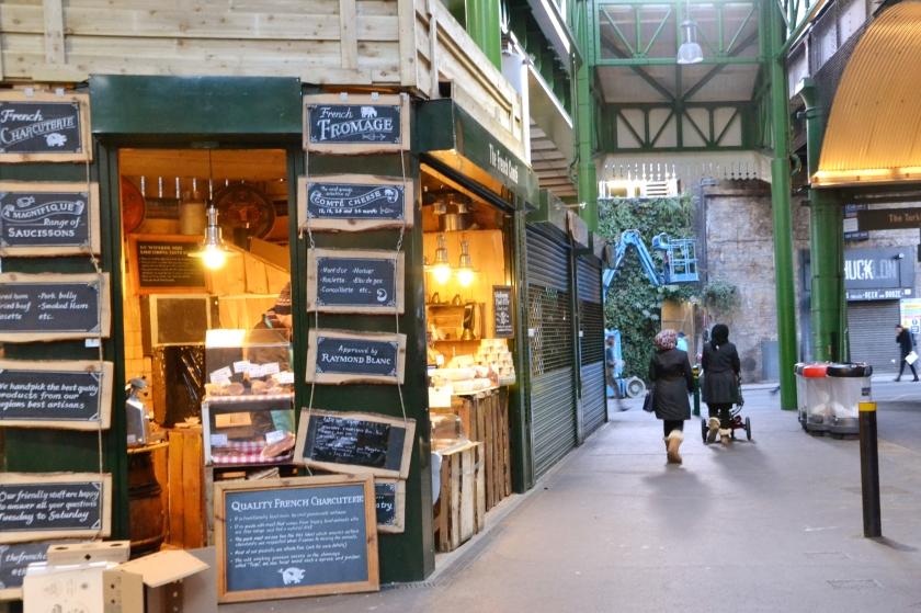 Londres. Borough Market. La Nantaise à Paris