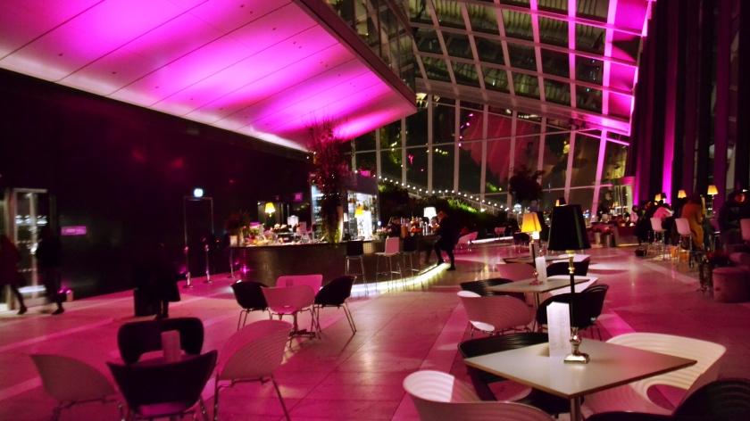 Londres. Sky Garden. La Nantaise à Paris (2)