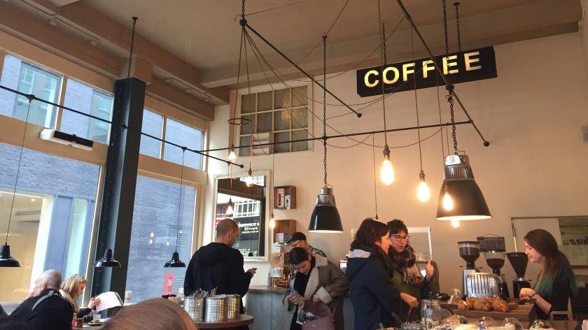 Londres. Tap Coffee. La Nantaise à Paris (1)