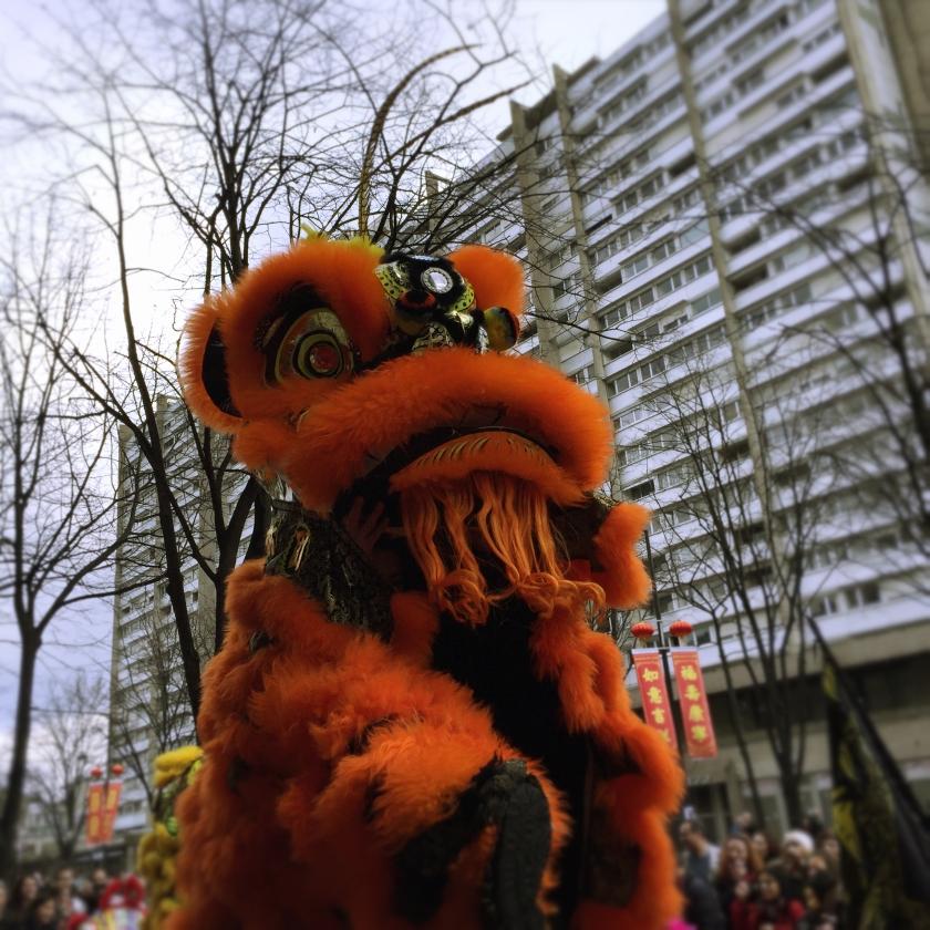 Retrospective. Défilé Nouvel An Chinois. La Nantaise à Paris