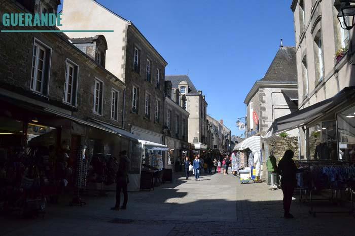 Guérande. Loire-Atlantique. La Nantaise à Paris (1)