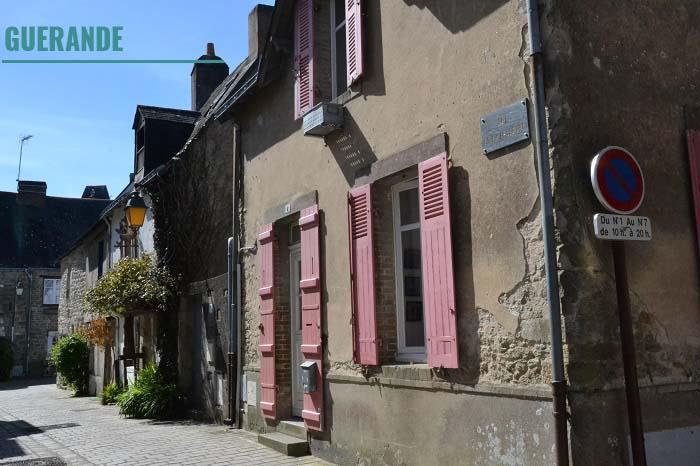 Guérande. Loire-Atlantique. La Nantaise à Paris (2)
