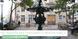 Où trouver des fontaines à Mouffetard ?
