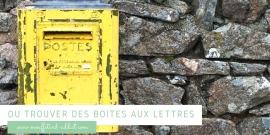 Où trouver des boites aux lettres à Mouffetard ?
